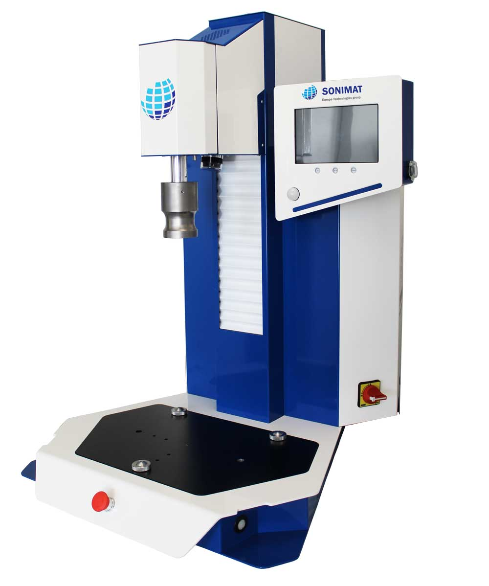 ultrasonic welders for plastics - SONIMAT