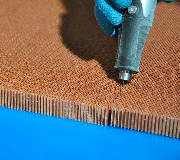 ultrasonic cutting knife honeycomb